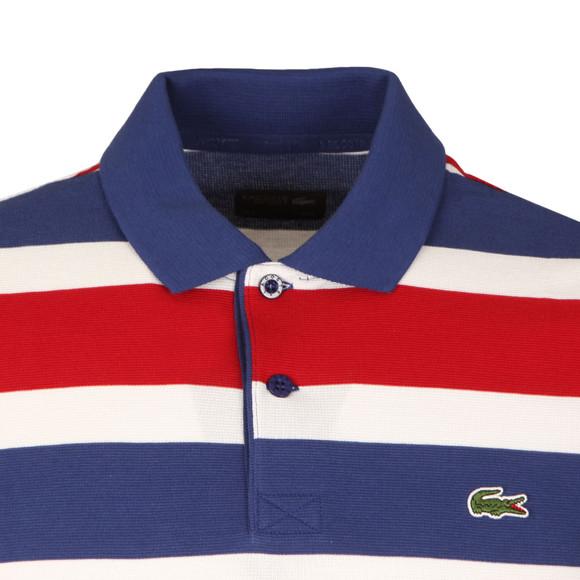 Lacoste Sport Mens Blue S/S YH8129 Stripe Polo main image