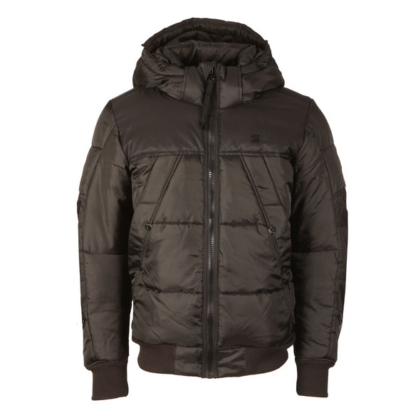 G-Star Mens Black Whistler Hooded Bomber main image