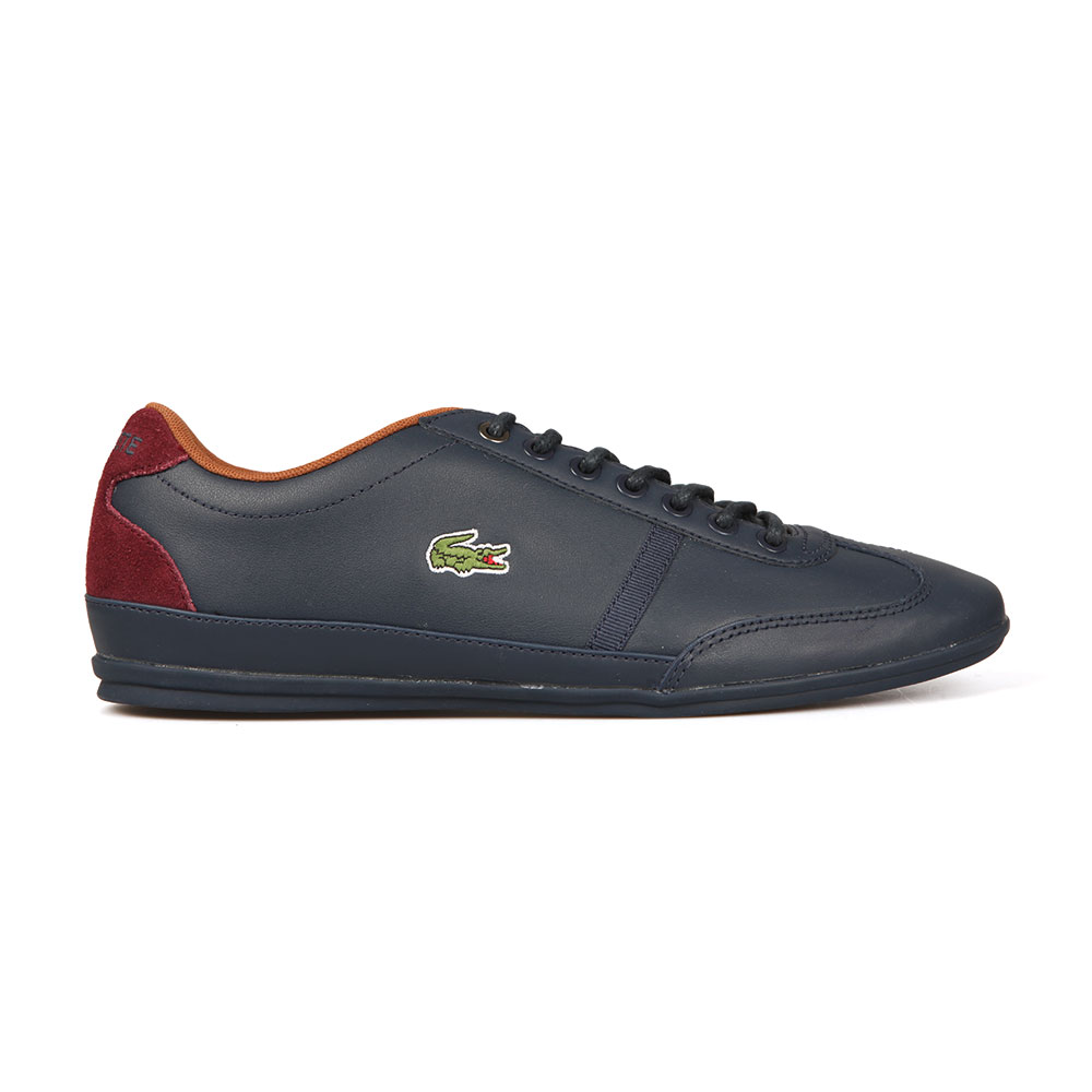 b6bc13c3a21535 Lacoste Sport Mens Blue Misano Sport 317 Trainer