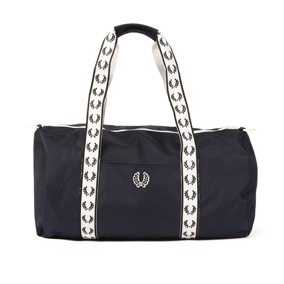 Fred Perry Mens Blue Track Barrel Bag main image