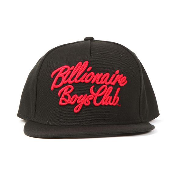 Billionaire Boys Club Mens Black Script Logo Snapback main image