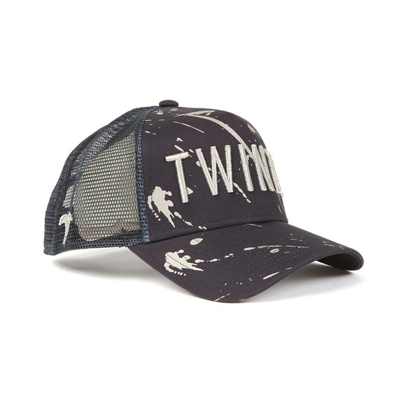 Twinzz Mens Blue Mesh Trucker Cap main image