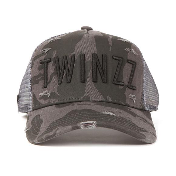 Twinzz Mens Black Mesh Trucker Cap main image