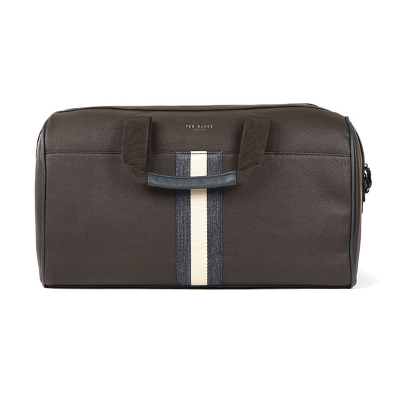 Ted Baker Mens Brown Webbing Holdall Bag main image