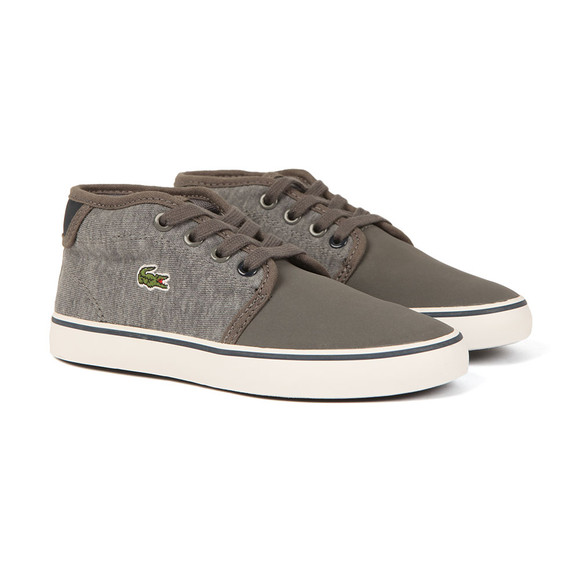 Lacoste Sport Boys Grey Ampthill 317 CAC Trainer main image