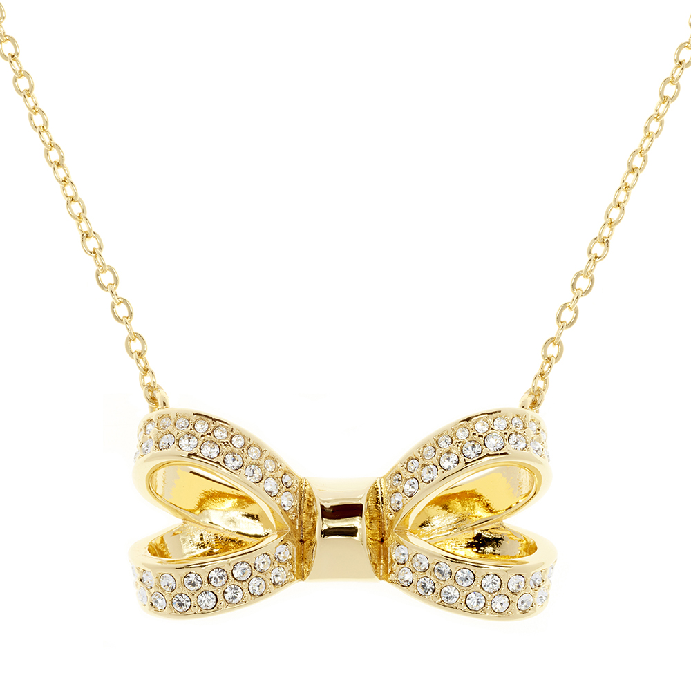 f8df47c53cf Ted Baker Olessi Mini Opulent Pave Bow Pendant