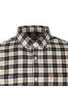 Farah Mens Blue L/S Coleville Check Shirt