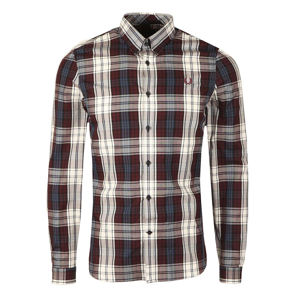 Bold Tartan Ls Shirt