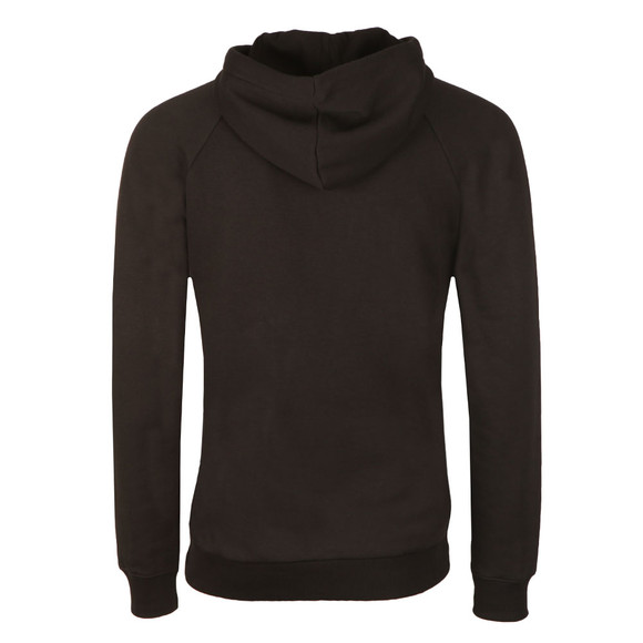 Adidas Originals Mens Black Trefoil Hoodie main image