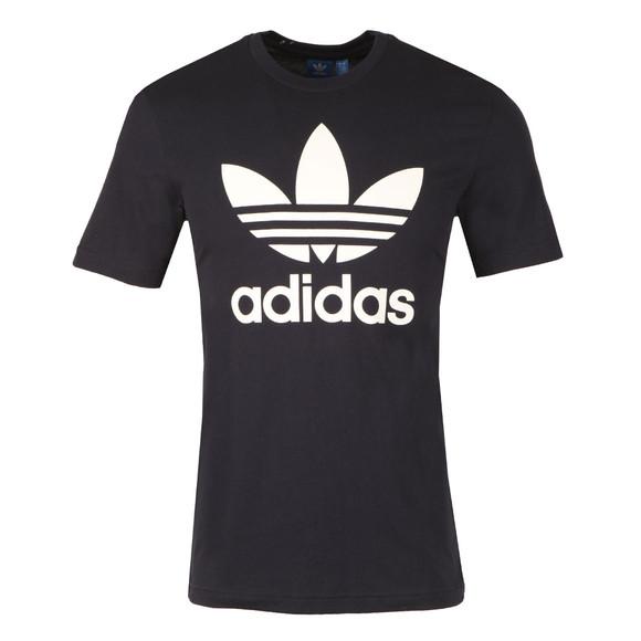 Adidas Originals Mens Blue Trefoil Tee main image