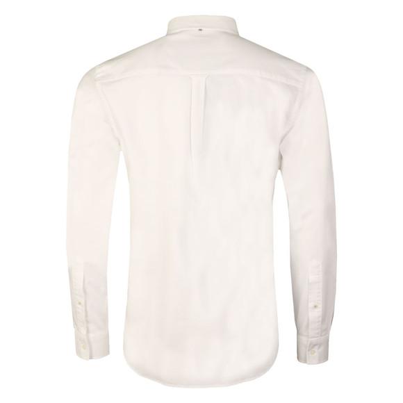 Pretty Green Mens White L/S Sterling Oxford Shirt main image