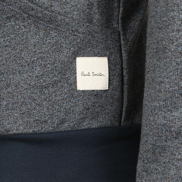 Paul Smith Mens Blue Loop Back Zip Hood main image