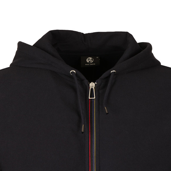 Paul Smith Mens Blue Full Zip Hooded Sweat main image