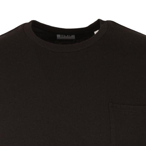 Edwin Mens Black Pocket T Shirt main image