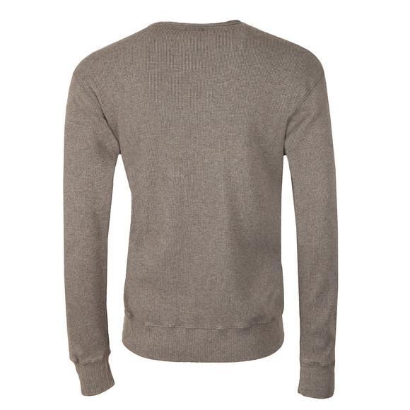 Edwin Mens Grey Waffle Sweatshirt main image