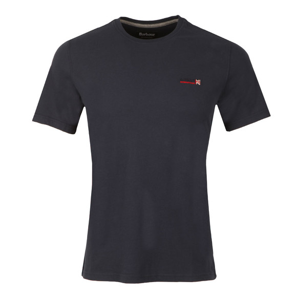 Barbour International Mens Blue S/S Indicator Tee main image