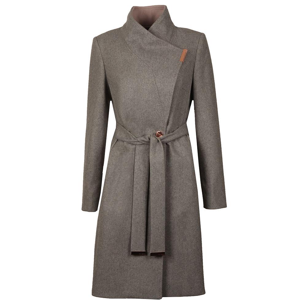 a2a3c9a3d39e Ted Baker Khera Contrast Long Wrap Coat