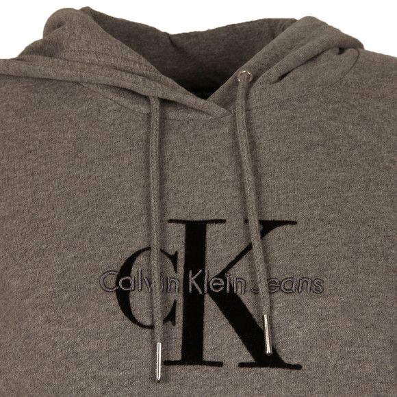 Calvin Klein Womens Grey Honor Pullover Hoody main image