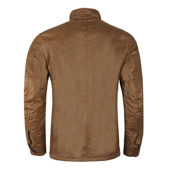 Barbour International Mens Brown Duke Wax Jacket main image