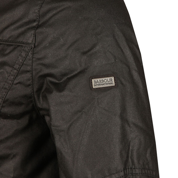 Barbour International Mens Black Inlet Wax Jacket main image