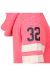 Superdry Womens Pink Track & Field Zip Hoody