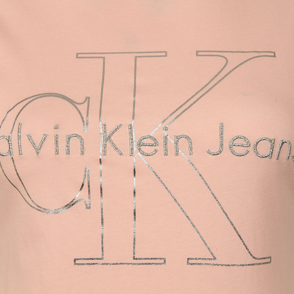 Calvin Klein Womens Pink Tanya-18 True Icon Tee main image