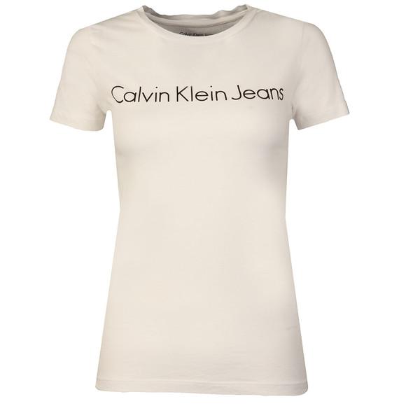 Calvin Klein Womens White Tamar-44 Tee main image
