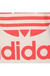 Adidas Originals Womens White Big Trefoil Tee