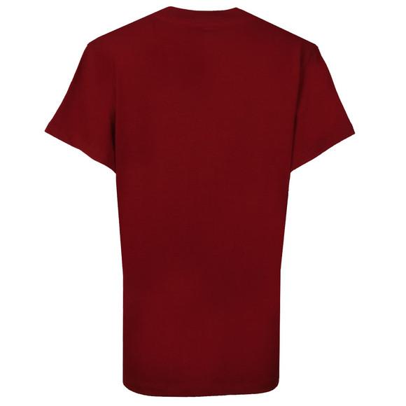 Adidas Originals Womens Red Big Trefoil Tee main image
