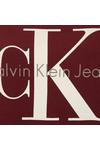 Calvin Klein Womens Red Crew Neck True Icon Sweatshirt
