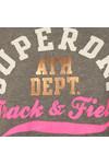 Superdry Womens Grey Track & Field Hoody