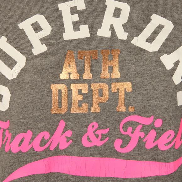 Superdry Womens Grey Track & Field Hoody main image