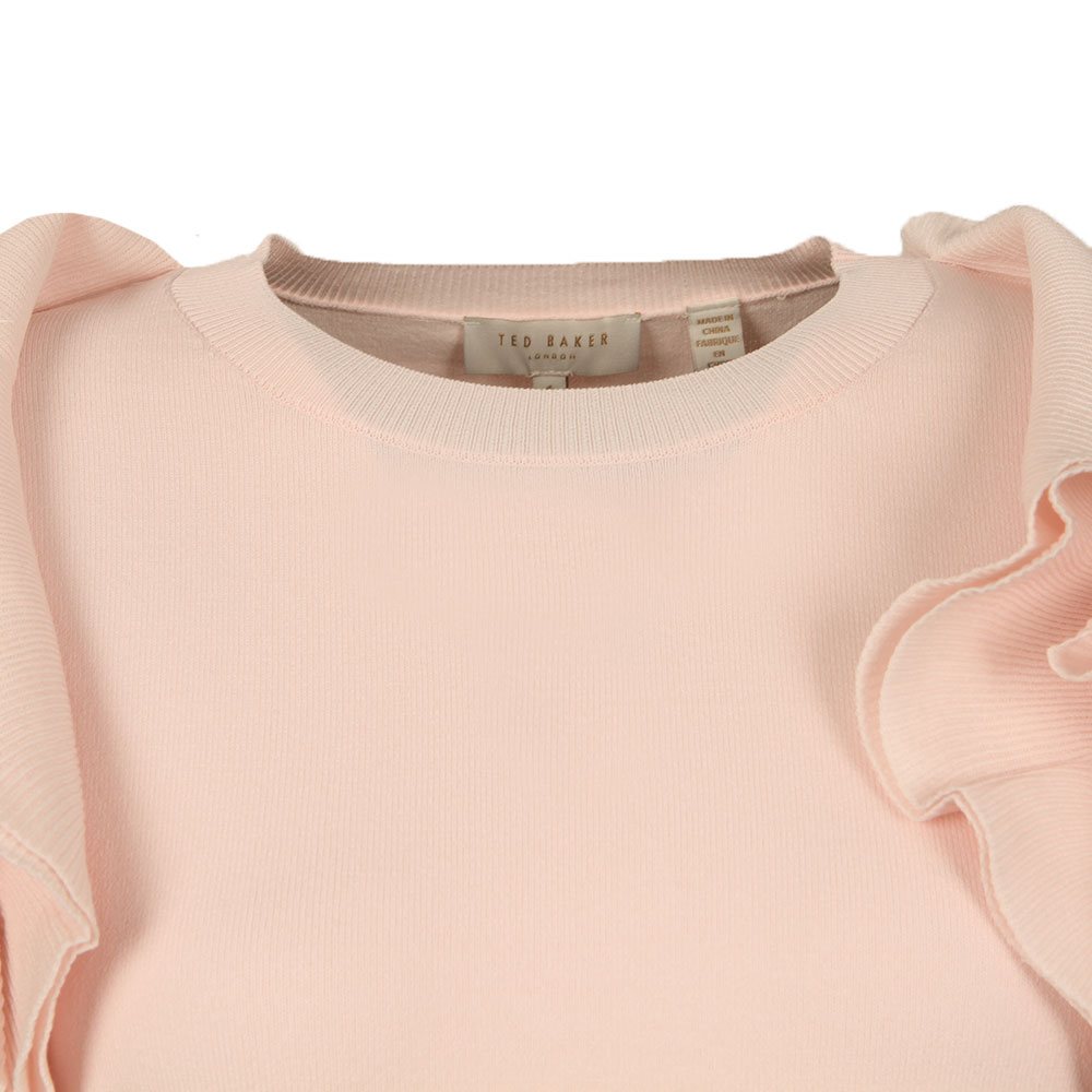 Brosl Frill Shoulder Jumper main image