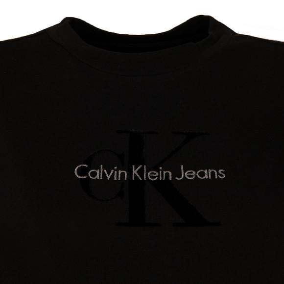 Calvin Klein Womens Black Teco-11 True Icon Tee main image