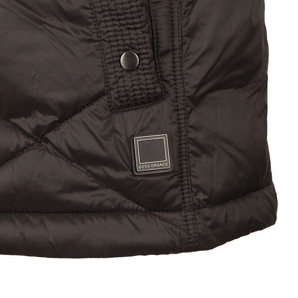 Boss Orange Mens Black Opeyton Gilet main image