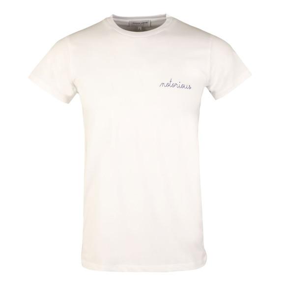 Maison Labiche Mens White Notorious Heavy T Shirt main image