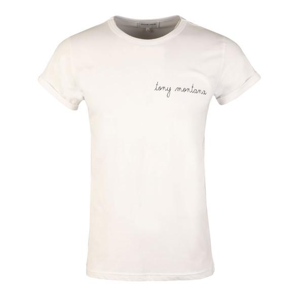 Maison Labiche Mens White Tony Montana T Shirt main image