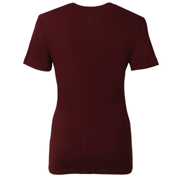 Calvin Klein Womens Red Shrunken T Shirt main image