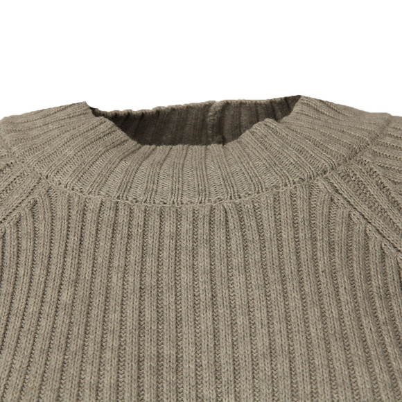 French Connection Womens Grey ILA Knits High Neck Jumper main image