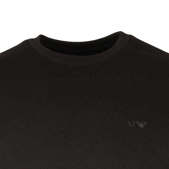 Armani Jeans Mens Black 8N6M19 Crew Neck Sweatshirt main image