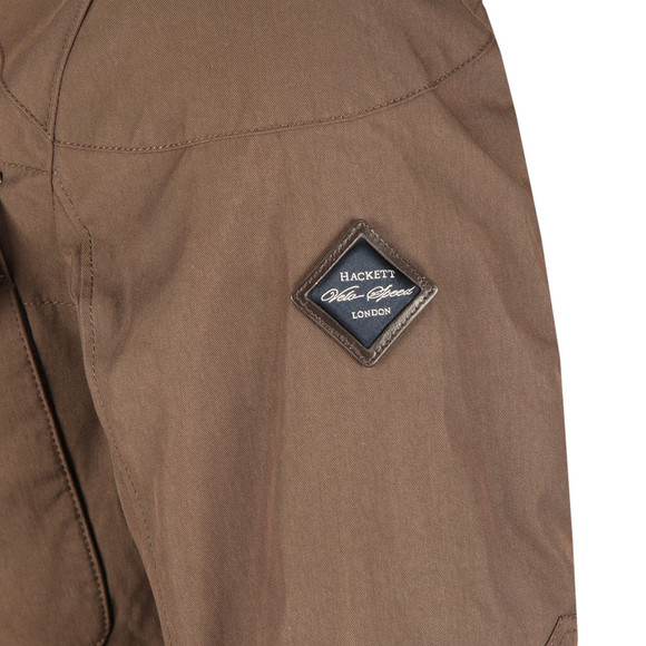 Hackett Mens Brown Velospeed Jacket main image