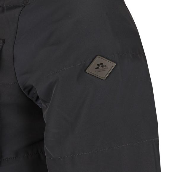 J.Lindeberg Mens Blue Bailey Structured Poly Jacket main image