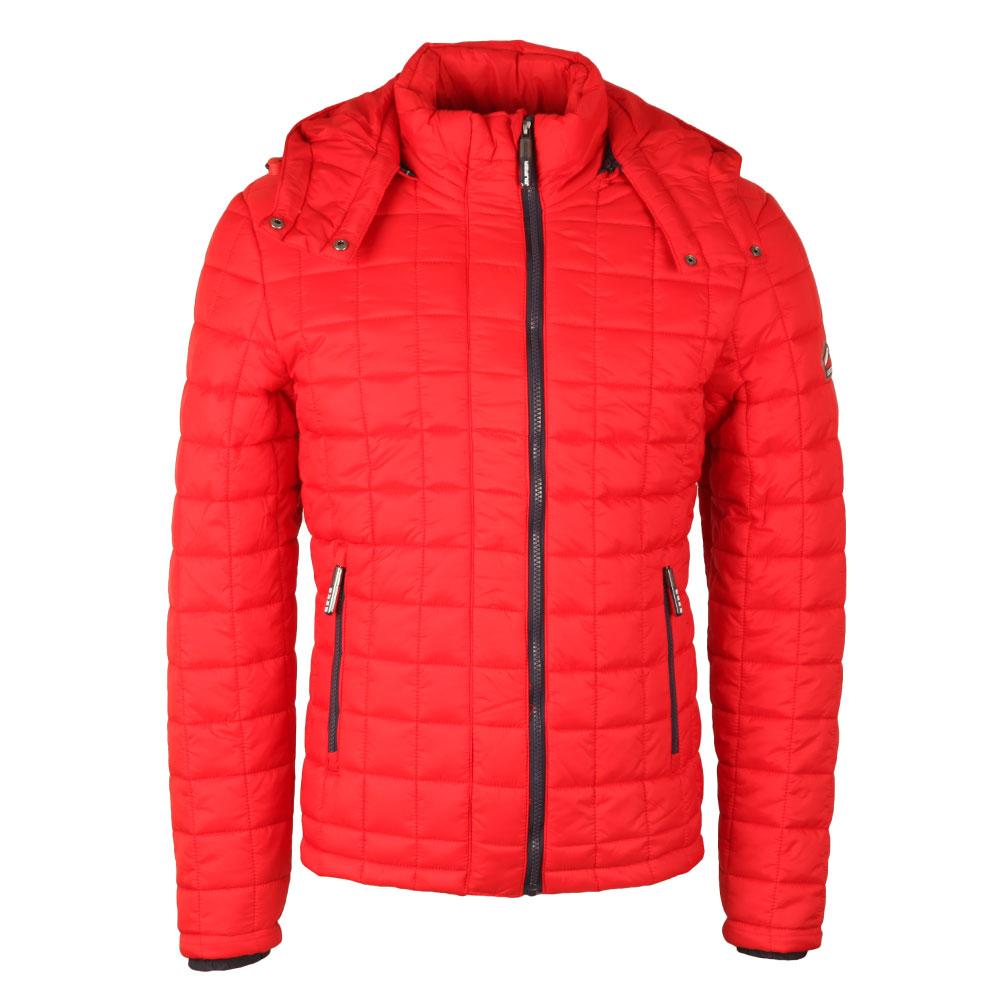 Box Quilt Fuji Hood Jacket main image