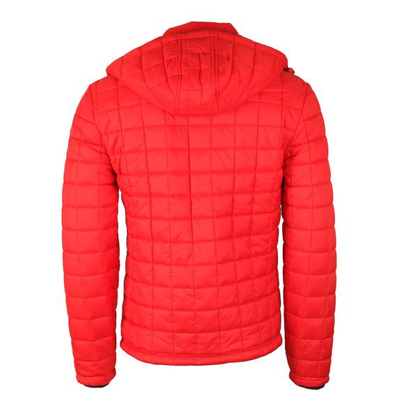 Superdry Mens Red Box Quilt Fuji Hood Jacket main image