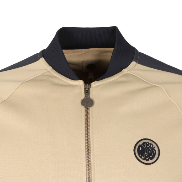 Pretty Green Mens Grey Contrast Panel Track Top main image