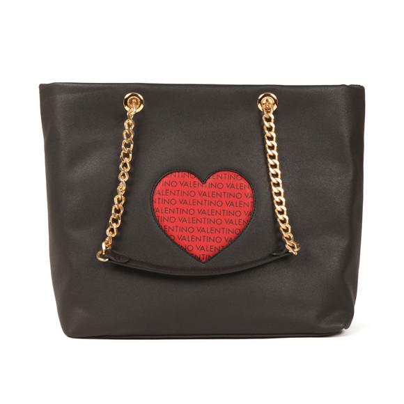 Valentino by Mario Womens Black Love Tote Bag main image
