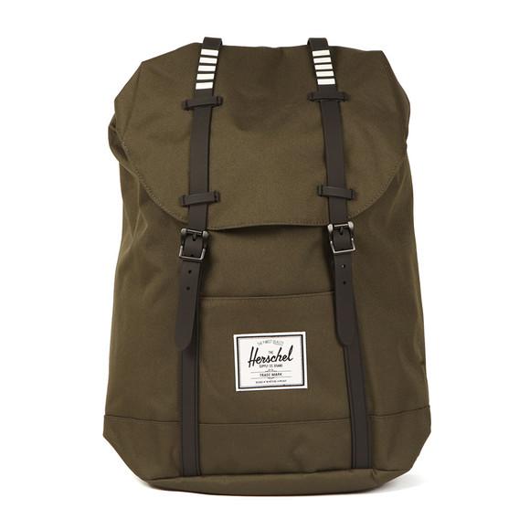 Herschel Mens Green Retreat Backpack main image