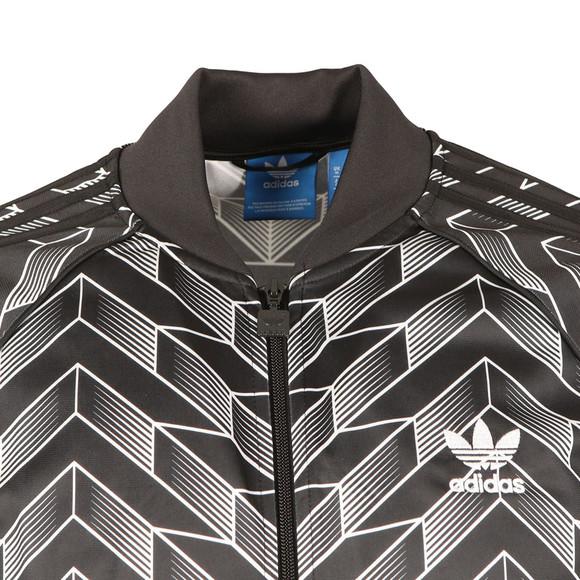 Adidas Originals Mens Black Soccer SST Track Top main image