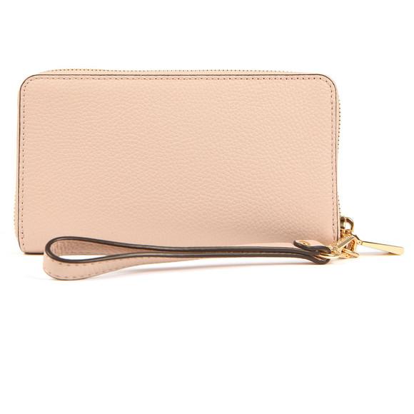 Michael Kors Womens Pink Mercer Large Leather Phone Case main image