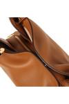 Michael Kors Womens Brown Raven Large Shoulder Tote Bag
